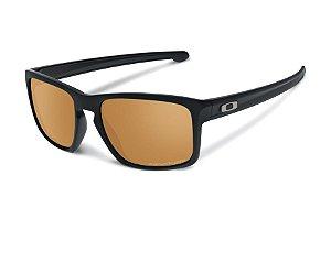 Óculos Oakley Sliver Matte Black Bronze Polarizado