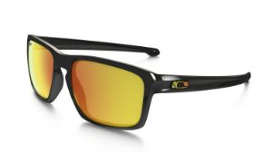 Óculos Oakley Sliver Valentino Rossi Polished Black Fire Iridium