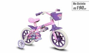 Bicicleta Infantil Nathor Cat Aro 12