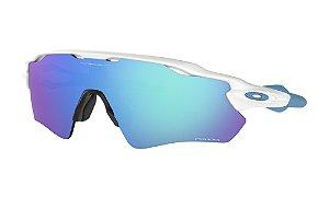 Óculos de Sol Oakley Radar EV Path Polished White Prizm Sapphire OO9208-5738