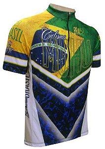 Camisa de Ciclismo Muhu Brasil