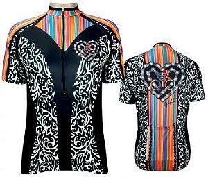 Camisa de Ciclismo Muhu Corrente Coração
