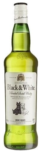 Whisky Black & White 1000 ml
