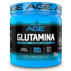 Glutamina 300g Age Pura Glutamine  Original