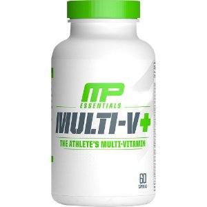 Multivitamínico Mult-V+ 60 Cápsulas - Mulsclepharm