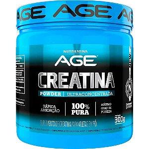 Creatina 300g Age 100% Pura Original