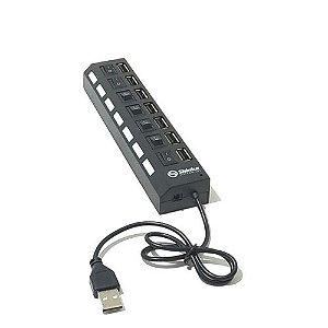 HUB USB 7 PORTAS SHINKA
