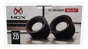 CAIXA DE SOM PC MOX MO-CS77