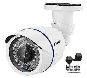Câmera Bullet Hd 2mp Tw-8720 Hb Metal Twg