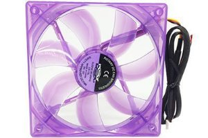 Cooler Fan Led Roxo 12cm Dex Dx-12l