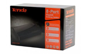 SWITCH 8 PORTAS 10/100/1000 TENDA SG108