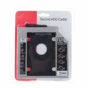 Case Adaptador Universal 9.5mm -  Hd Ssd Sata  - CaddY