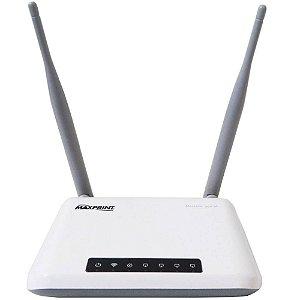 Roteador Maxprint Wireless Maxlink 300 Mbps Duas Antenas