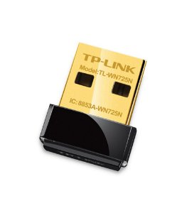Adaptador USB Wifi Tplink 150MBPS nano - TLWN725N