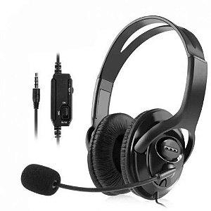 Fone Ouvido Headset Gamer Ps4 - Xbox One - Celular Feir