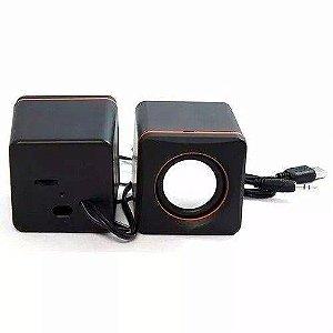 MINI CAIXA DE SOM USB FY-101 PRETA