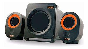 Caixa De Som Speaker Booster Subwoofer 30W Fm Sd Usb SK500