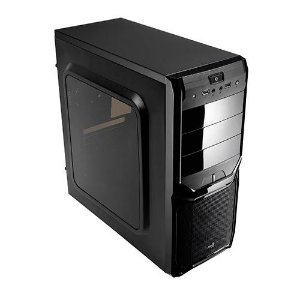 Gabinete  Gamer Aerocool Atx V3x Window Black