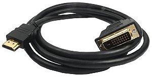 CABO HDMI X DVI C/FILTRO 2MT