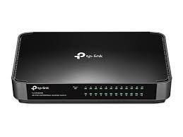 Switch De Mesa 24 Portas Tp Link Tl-sf1024m 10/100mbps