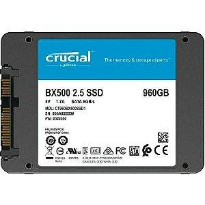 SSD 960GB SATA III CRUCIAL