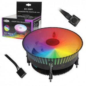COOLER GAMER DEX RGB C/24 LED DX-9009
