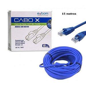 CABO DE REDE CAT - 15 METROS