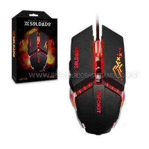 Mouse Gamer Led Usb Pc Xsoldado Infokit Gm-705 2400dpi