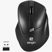 Mouse Elogin - MO02 Preto