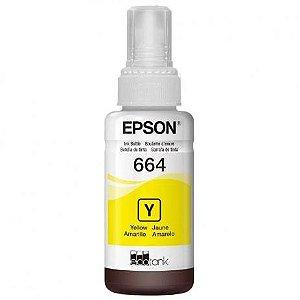 Refil Para Impressora Epson - Amarelo 664