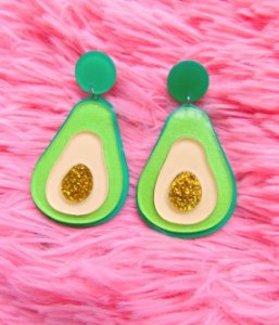 Brincos Avocado