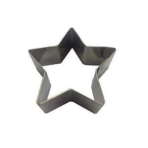 Cortador de biscoito estrela inox 5 cm Doupan