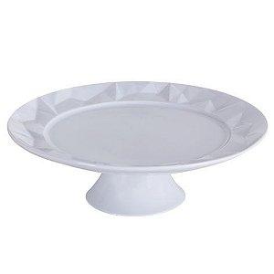 Prato para bolo de porcelana G Edros Germer
