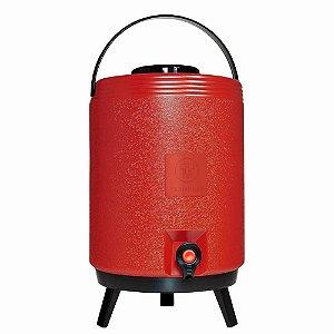Botijão Maxitermo vermelho 12 litros Termolar