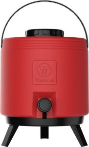 Botijão Maxitermo 8 litros Vermelho Termolar
