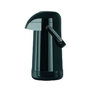 Garrafa Térmica Magic Pump 500 ml preta  Termolar