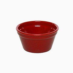 Ramequim Cheff 90 ml Vemplast vermelho