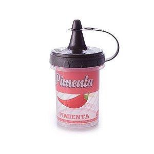 Mini bisnaga para pimenta retrô Plasútil