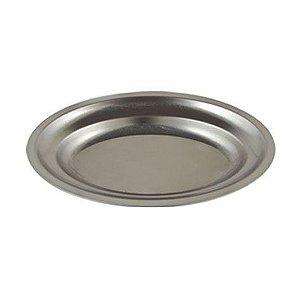 Travessa oval rasa de inox 25 x 18 cm Alissan