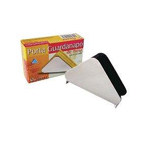 Porta guardanapos de mesa de inox Globo