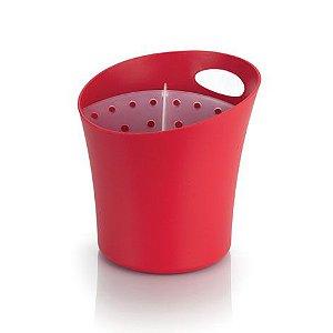 Escorredor de talheres vermelho - Ou