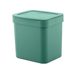 Lixeira Trium 2,5 litros - Ou verde
