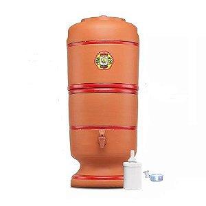 Filtro de barro 4 litros Nº 0 - 1 Vela - São Pedro