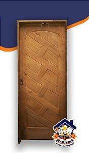 Porta de madeira Maciça completa 2,15cm x 82cm - Batente de 11cm. É só instalar.