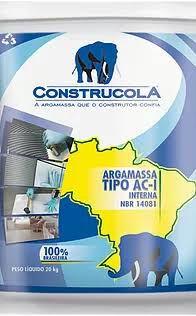 ARGAMASSA AC - I - INTERNO 20 kg Assentamento de peças cerâmica e azulejos - cerâmica de até 60x60x60e azulejos