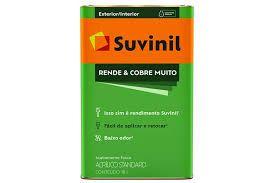 TINTA ACRÍLICA FOSCO RENDE E COBRE MUITO BRANCO - 18L SUVINIL