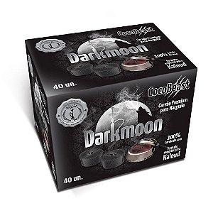 Carvão Premium CocoBeast Darkmoon Para Kaloud