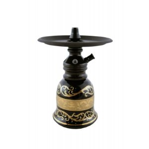 Kit Narguile Bohemian Hookah King Tower Black
