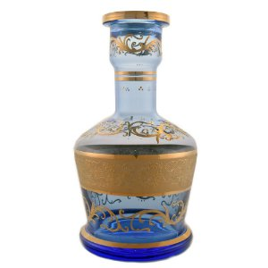 Vaso Bohemian Zaman Light Blue