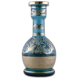 Vaso Bohemian Alibaba BJ Light Blue